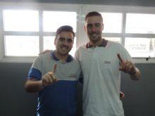 Michael Degiorgio y Franco Amherdt - Foto FM Spacio