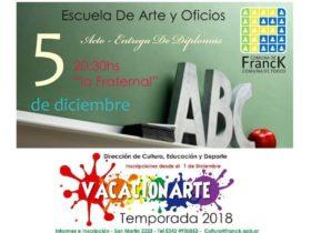 Afiches de la Escuela de Artes y Oficios