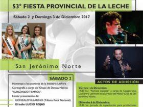 Fiesta Provincial de la Leche SJN - Afiche