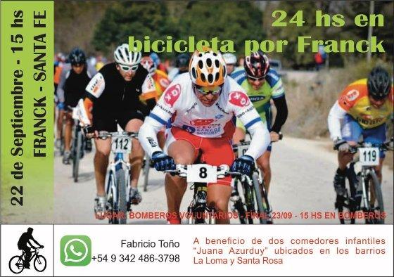 Bicicleteada solidaria - 24 hs. por Franck
