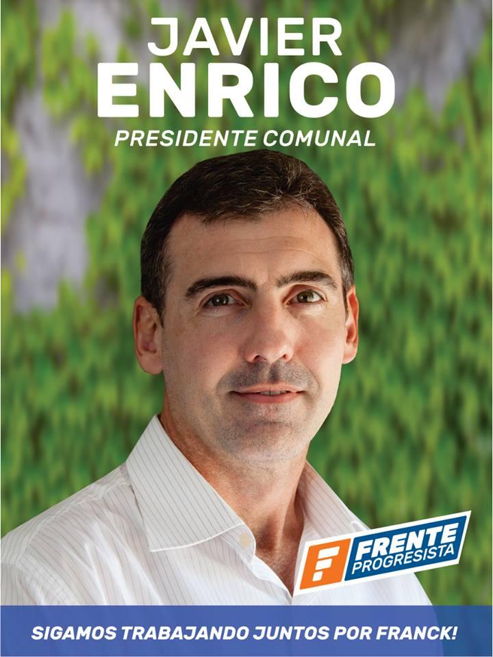 Javier Enrico - Candidato del FP