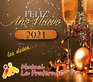 Mutual La Fraternal - Feliz 2021!