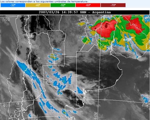 informe servicio meteorologico: